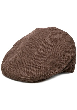 Hackett checked beret - Brown