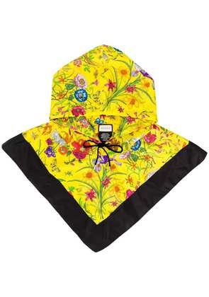 Gucci floral hood - Yellow