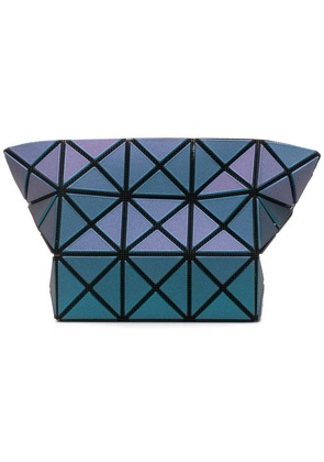 Bao Bao Issey Miyake geometric make-up bag - Blue