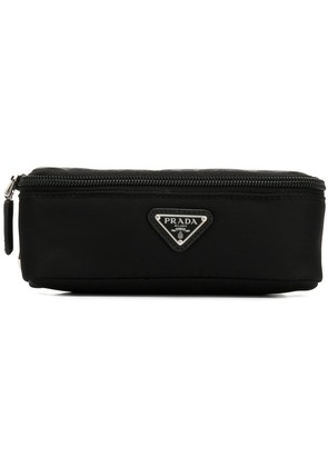 Prada zipped wash bag - Black