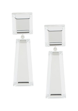 Rachel Comey crystal drop earrings - White