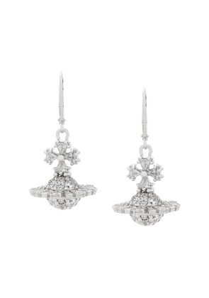 Vivienne Westwood orb earrings - Silver
