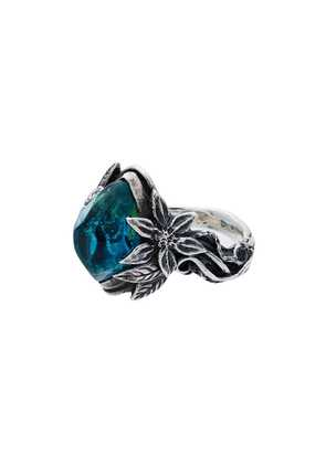 Lyly Erlandsson blue and silver Aria ring