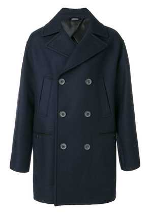 Lanvin double-breasted coat - Blue