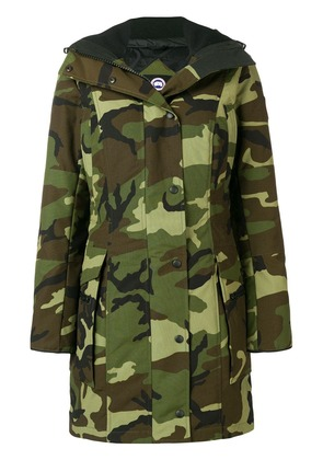 Canada Goose Kinley camouflage parka - Green