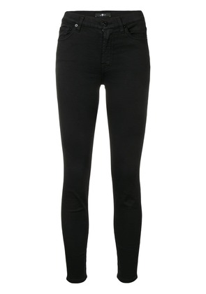 7 For All Mankind skinny cropped jeans - Black