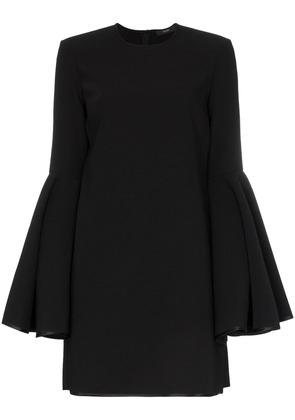 Ellery Dogma bell sleeve mini dress - Black