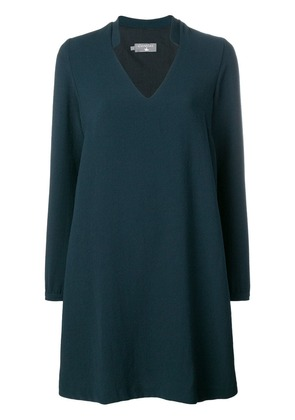 Cotélac loose fit dress - Blue