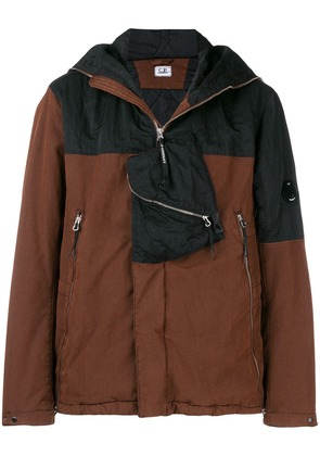 CP Company hooded bomber jacket - Brown