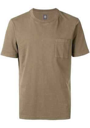 Eleventy chest pocket T-shirt - Green