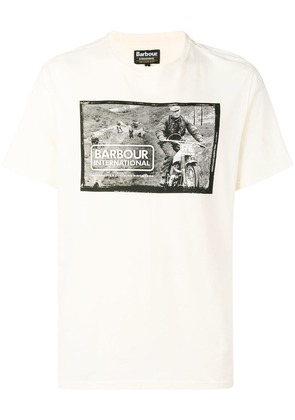 Barbour Retainer T-shirt - White