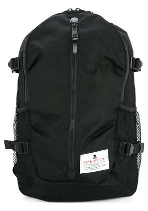 Makavelic Trucks Cocoon canvas backpack - Black