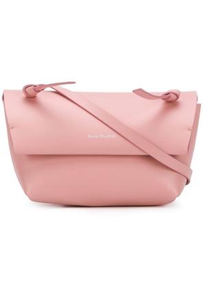 Acne Studios flap shoulder bag - Pink