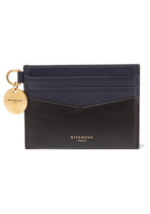 Givenchy - Two-tone Leather Cardholder - Black