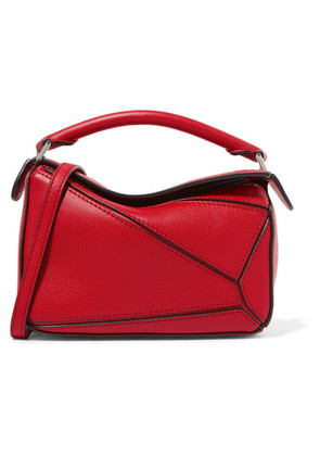 Loewe - Puzzle Mini Textured-leather Shoulder Bag - one size