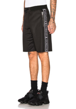 Givenchy Taping Short in Black