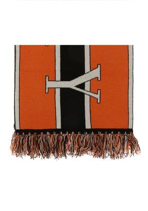 Burberry Logo-embroidered scarf
