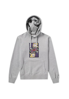 Billionaire Boys Club Omega Patch Popover Hoody Heather Grey