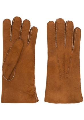 Eleventy classic gloves - Brown