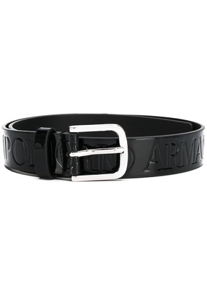 Emporio Armani buckle belt - Black
