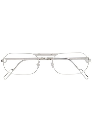 Cartier oval lens glasses - Silver