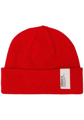 Adidas logo patch beanie - Red
