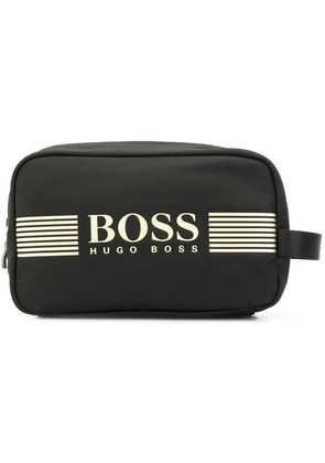 Boss Hugo Boss logo wash bag - Black
