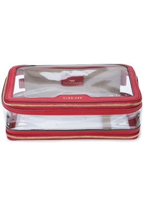 Anya Hindmarch Touch Down cosmetic bag - Red