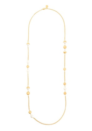 Tory Burch pearl necklace - Metallic