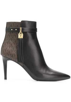 Michael Michael Kors pointed ankle boots - Black