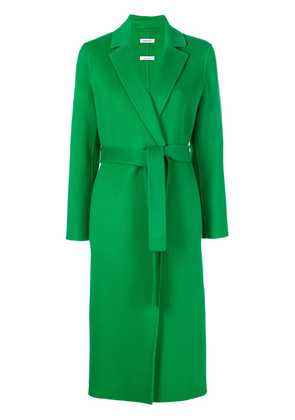 P.A.R.O.S.H. belted robe coat - Green