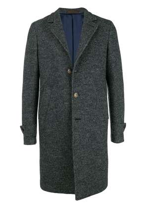 Eleventy single breasted coat - Grey