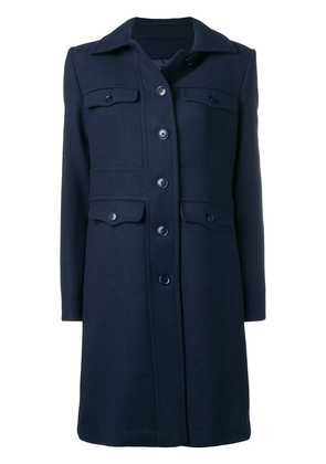 Emporio Armani four pocket coat - Blue