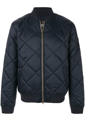 Barbour quilted bomber jacket - Blue