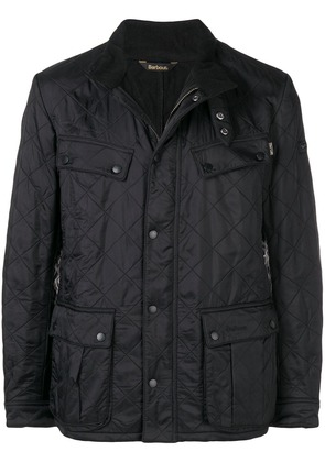 Barbour quilted shirt jacket - Black