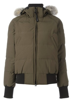 Canada Goose hooded padded jacket - Green
