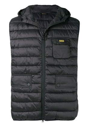 Barbour Ouston quilted gilet - Black