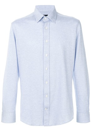 Hackett formal fitted shirt - Blue