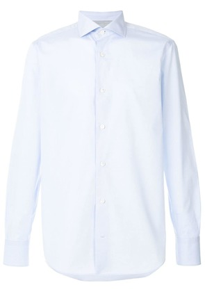 Eleventy fitted formal shirt - Blue