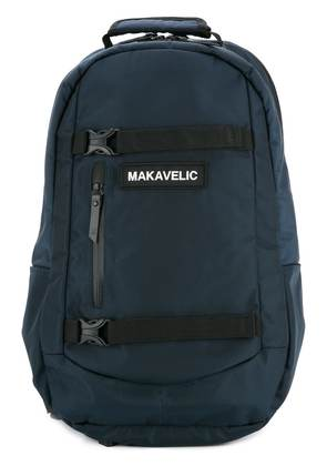 Makavelic push buckle fastened backpack - Blue