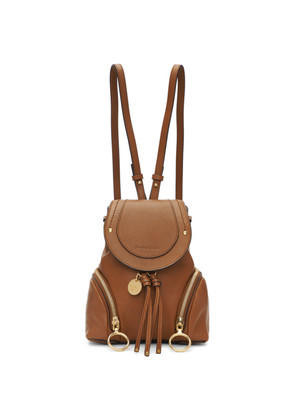 See by Chloé Brown Small Olga Backpack