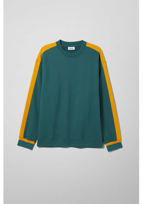 Billy Peached Sweatshirt - Turquoise