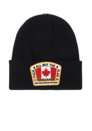 Dsquared2 Patched hat