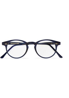 Cutler and Gross - Round-frame Acetate Optical Glasses - Navy