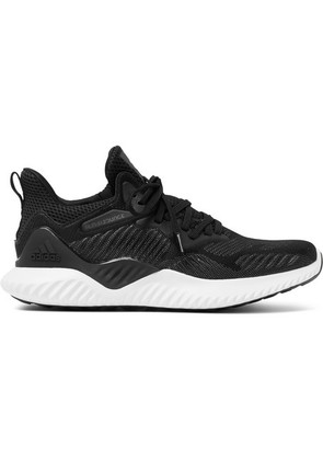 Adidas Sport - Alphabounce Beyond Forgedmesh Sneakers - Black