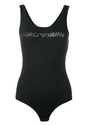 Emporio Armani open back body - Black