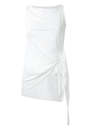 Forme D'expression 'Pleated' tank top - White