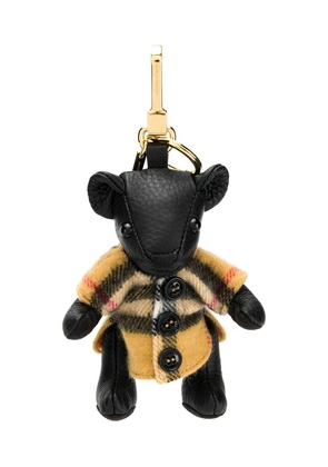 Burberry bear key ring - Black