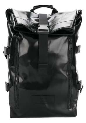 Ami Alexandre Mattiussi Roll Top Backpack - Black