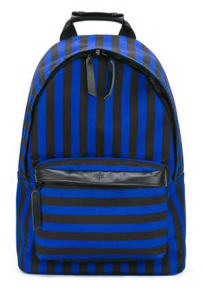 Ami Alexandre Mattiussi Zipped Backpack - Blue